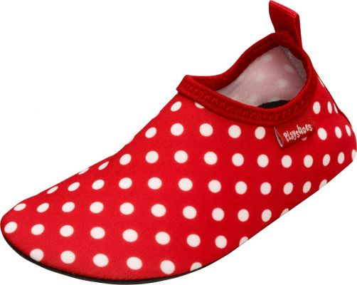 Playshoes---UV-swim-shoes-for-children---Dots---Red