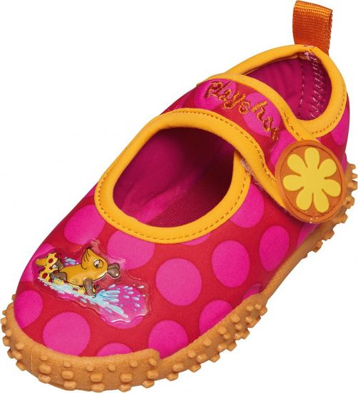 Playshoes---UV-Kids-Beachshoes---Pink-Mouse