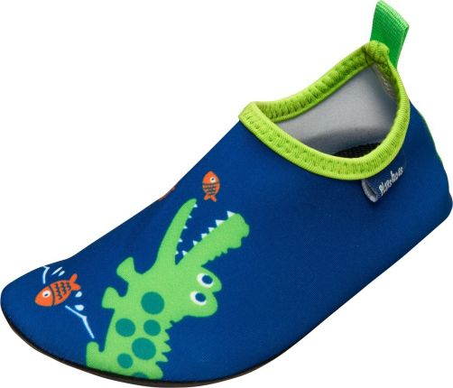 Playshoes---UV-swim-shoes-for-boys---Crocodile---Blue-/-green