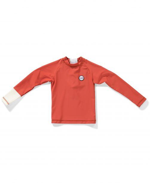 Tenue-de-Soleil---UV-Swim-shirt-for-children---Samu---Sunny-Peach