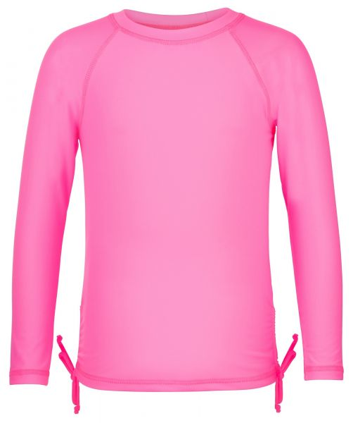 Snapper-Rock---Neon-Pink-LS-Rash-Top