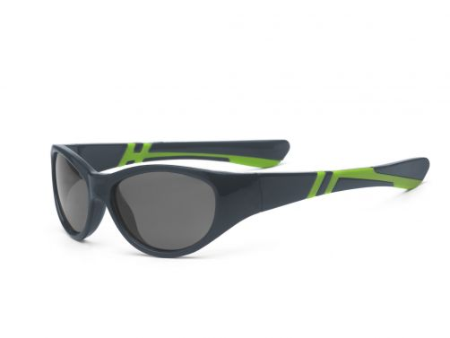 Real-Kids-Shades---UV-sunglasses-toddler---Discover---Graphite-/-Lime