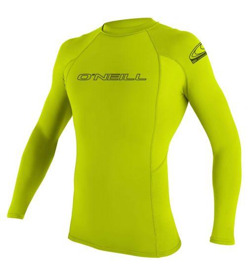 O'Neill---Men's-UV-shirt---Longsleeve---Basic-Rash---Lime