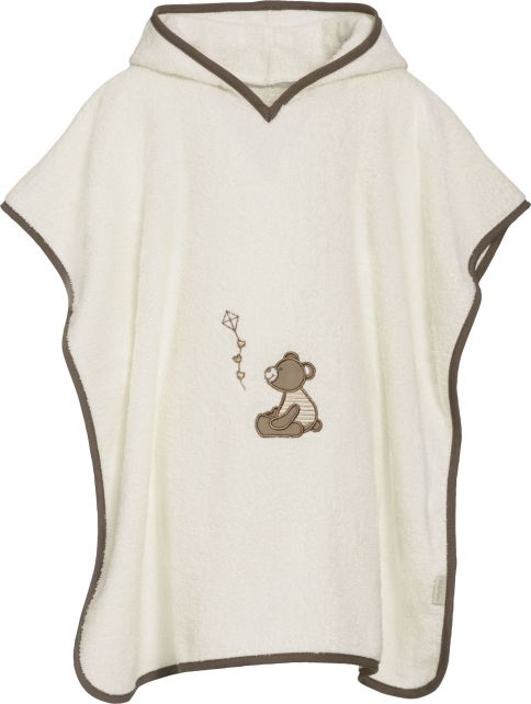 Playshoes---Baby-towel-with-hoodie---Teddy