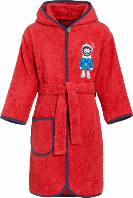 Playshoes---Bathrobe-with-hoodie-for-boys---Diver