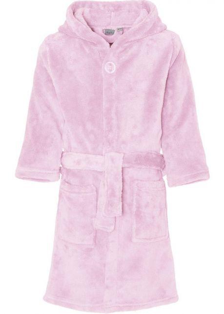 Playshoes---Fleece-Bathrobe-with-hoodie---Light-Pink