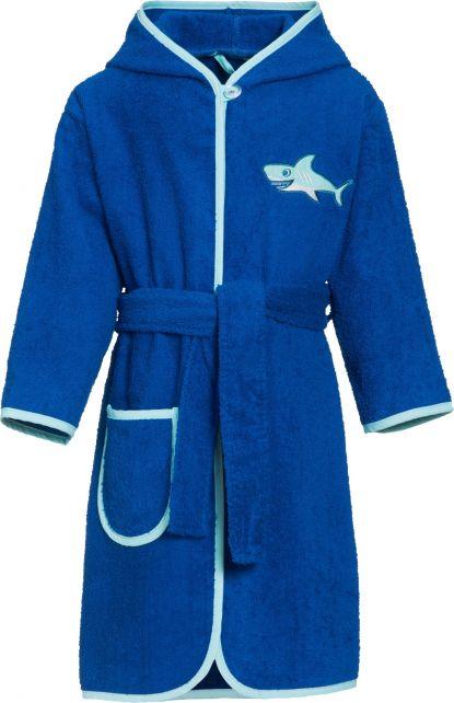 Playshoes---Bathrobe-with-hoodie-for-boys---Shark