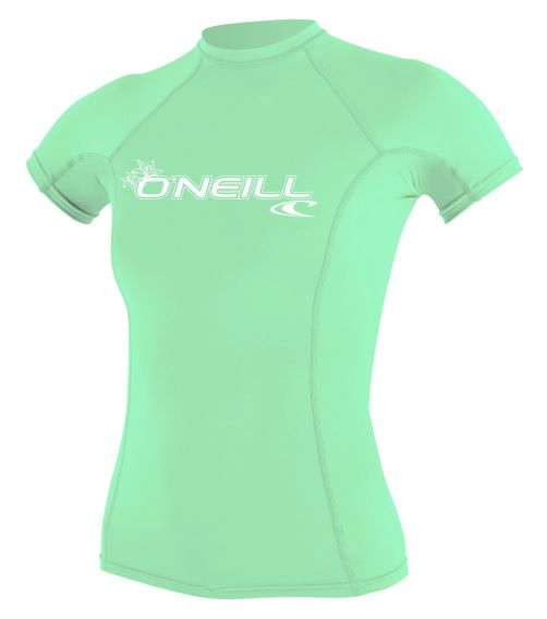 O'Neill---Women's-UV-shirt---Short-sleeves---Basic-Rash---Aqua
