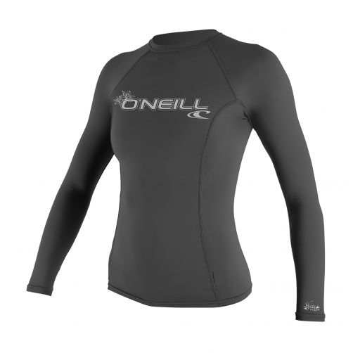 O'Neill---Women's-UV-shirt---long-sleeve-performance-fit---graphite