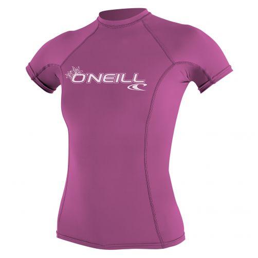 O'Neill---Women's-UV-shirt---short-sleeve-performance-fit---pink