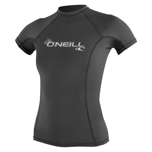 O'Neill---Women's-UV-shirt---short-sleeve-performance-fit---grey