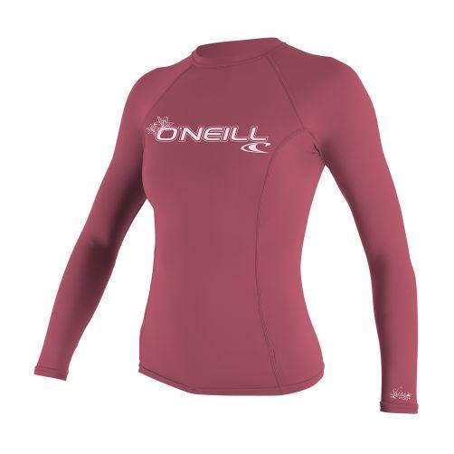 O'Neill---Women's-UV-shirt---long-sleeve-performance-fit---pink