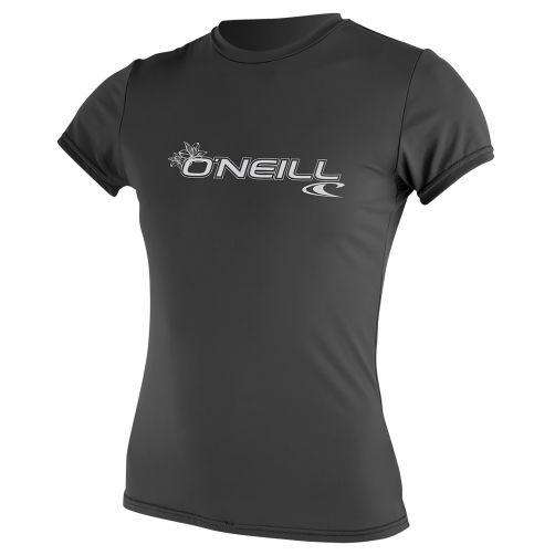 O'Neill---Women's-UV-shirt---short-sleeve-slim-fit---graphite