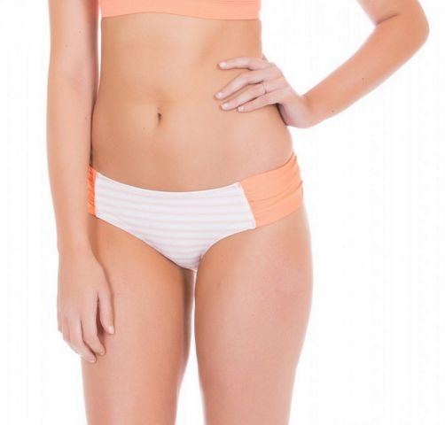 Cabana-Life---UV-resistant-Bikinibottom-for-ladies---White/Orange