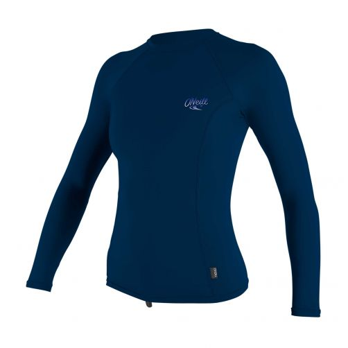 O'Neill---Women's-UV-shirt---Longsleeve---Premium-Rash---Periwinkle