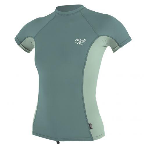 O'Neill---Women's-UV-shirt---short-sleeve---mint-/-eucalyptus