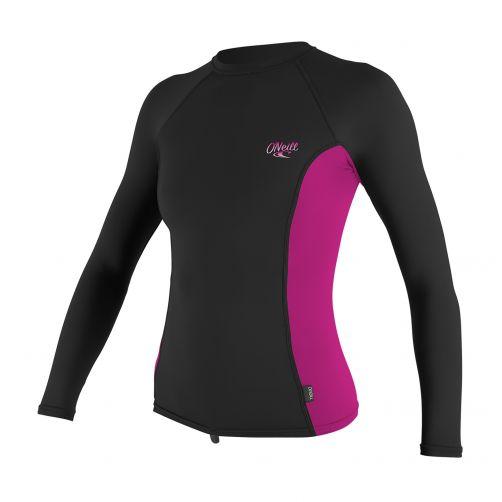 O'Neill---Women's-UV-shirt---long-sleeve---pink-/-black
