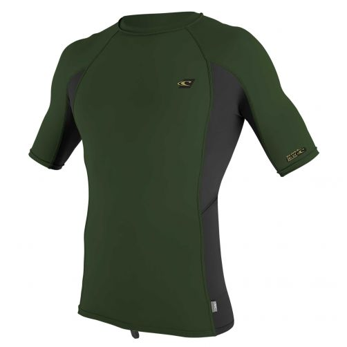 O'Neill---Men's-UV-shirt---Short-sleeves---Premium-Rash---Dark-Olive