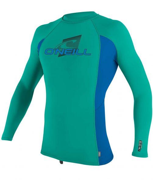 O'Neill---Kids'-UV-shirt---Longsleeve---Premium-Rash---Baltic-Green