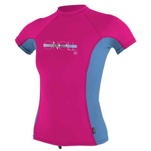 O'Neill---Girls-UV-shirt---Short-sleeves---Premium-Rash---Berry