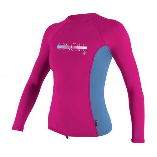 O'Neill---Girls-UV-shirt---Longsleeve---Premium-Rash---Berry