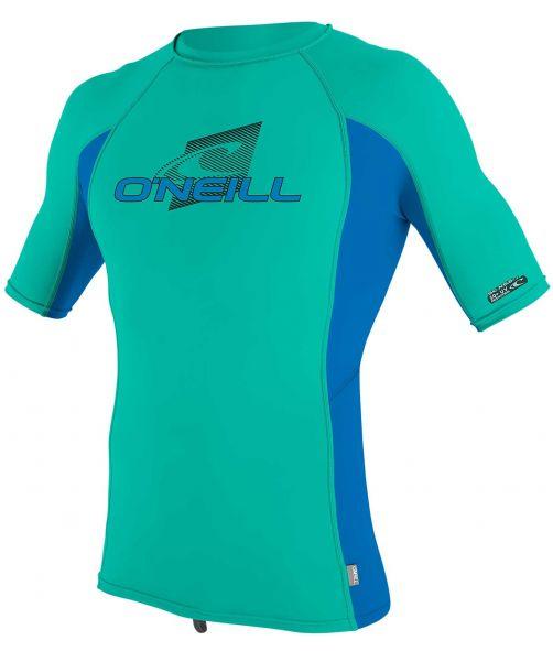 O'Neill---Kids'-UV-shirt---Short-sleeves---Premium-Rash---Baltic-Green