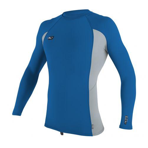 O'Neill---Men's-Premium-UV-shirt---long-sleeve---blue-grey