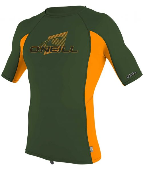 O'Neill---Kids'-UV-shirt---Short-sleeves---Premium-Rash---Dark-Olive