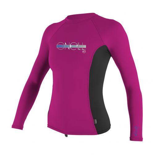 O'Neill---Girls'-UV-shirt---long-sleeve---pink/black