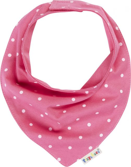 Playshoes---Neckerchief-for-babies---Dots---Pink