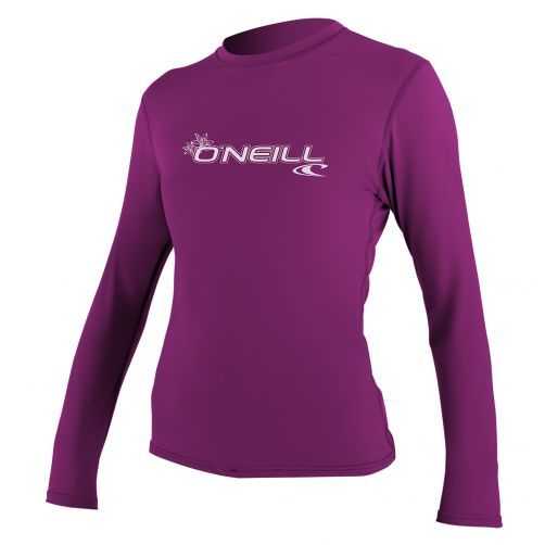 O'Neill---Women's-UV-shirt---long-sleeve-slim-fit---purple