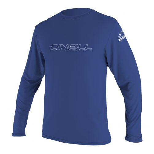 O'Neill---Men's-UV-shirt---long-sleeve---Pacific-blue