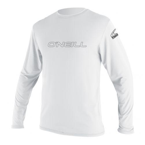 O'Neill---Men's-UV-shirt---long-sleeve---Basic-skins---white