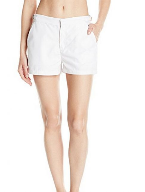 Cabana-Life---UV-resistant-Microfiber-Shorts-for-ladies---White