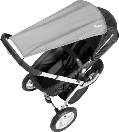 Playshoes---UV-Sun-Cover-for-Buggies--Grey