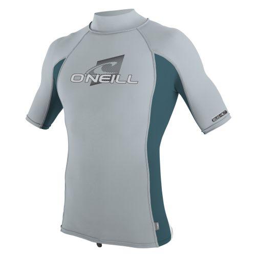 O'Neill---Kids'-UV-swim-shirt-turtleneck---grey/teal
