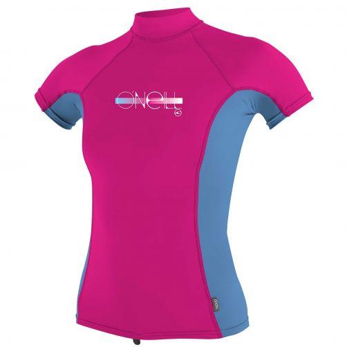 O'Neill---Girls-UV-shirt---Turtleneck---Premium-Rash---Berry