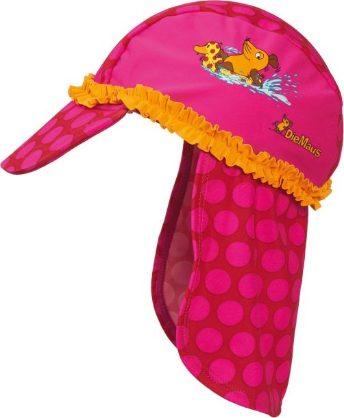 Playshoes---UV-children-sun-hat---Mouse-pink
