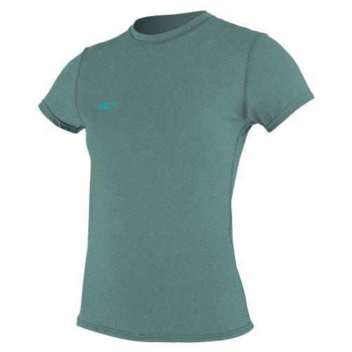 O'Neill---Women's-hybrid-UV-shirt---short-sleeve-slim-fit---euca