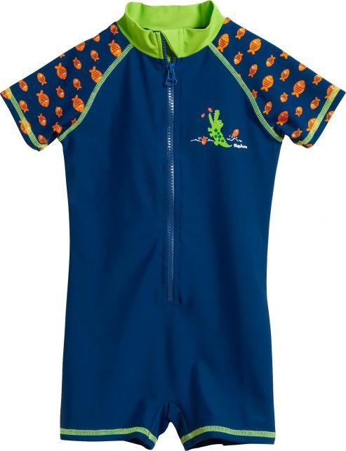 Playshoes---UV-swimsuit-for-boys---Crocodile---Blue
