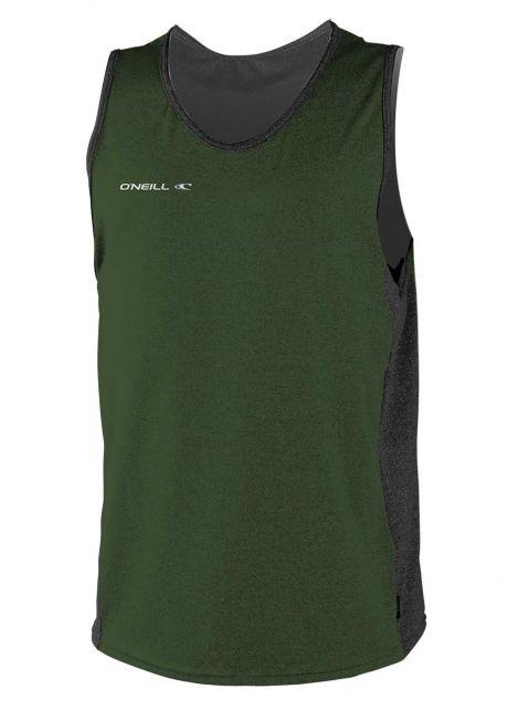 O'Neill---Men's-UV-Tanktop---Hybrid-Sun---Dark-Olive