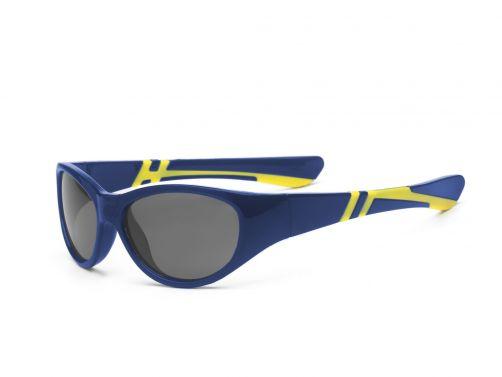 Real-Kids-Shades---UV-sunglasses---Kids-4+-yr---Discover---Navy/yellow
