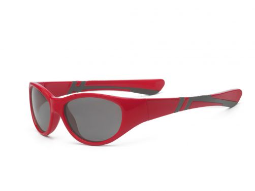 Real-Kids-Shades---UV-sunglasses---Kids-4+-yrs---Discover---Red/black