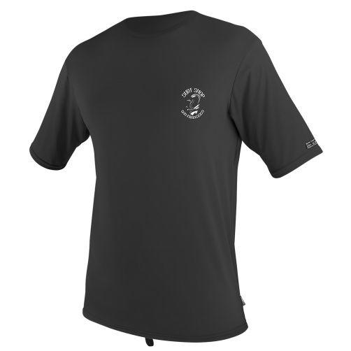 O'Neill---Men's-UV-swim-shirt---short-sleeved---black-