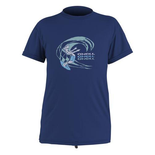 O'Neill---Kids'-UV-swim-shirt---short-sleeved---navy-