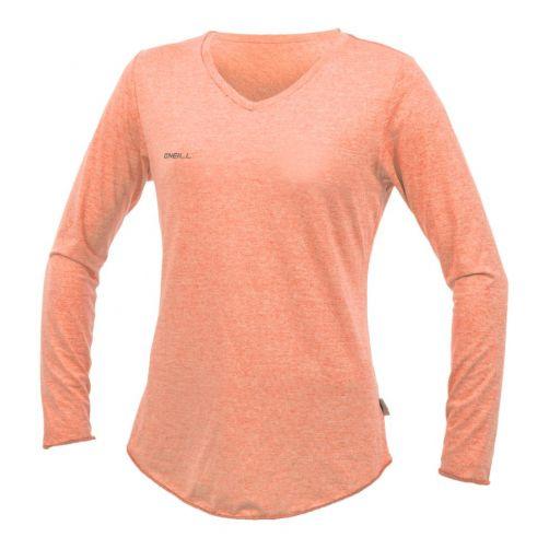 O'Neill---Women's-UV-shirt---Longsleeve---Hybrid-Sun---Grapefruit