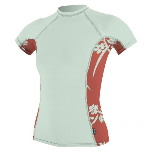 O'Neill---Women's-UV-swim-shirt-performance-fit---mint/orange
