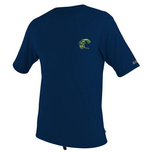 O'Neill---Men's-UV-swim-shirt---short-sleeved---dark-blue