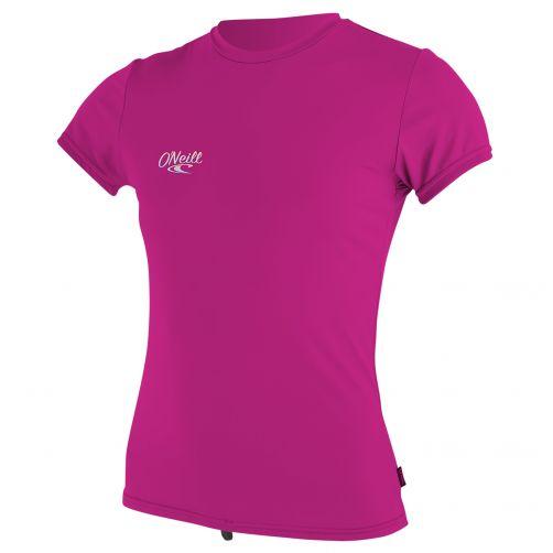 O'Neill---Girls'-UV-swim-shirt---short-sleeved---berry