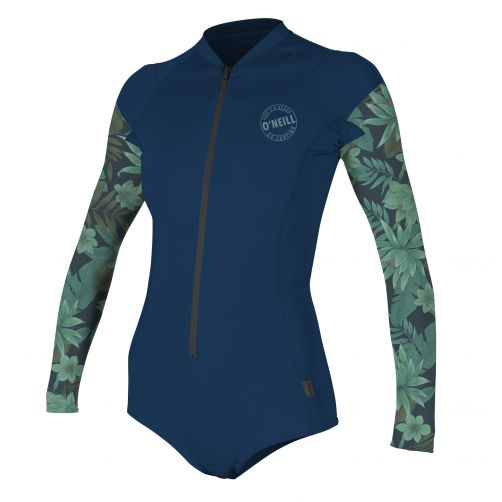 O'Neill---Women's-UV-swimsuit---long-sleeved---performance---multi